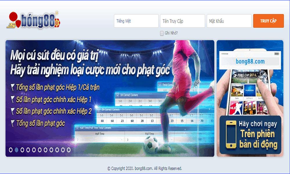 Bong88 - Hệ thống cá cược bóng đá trực tuyến uy tín nhất