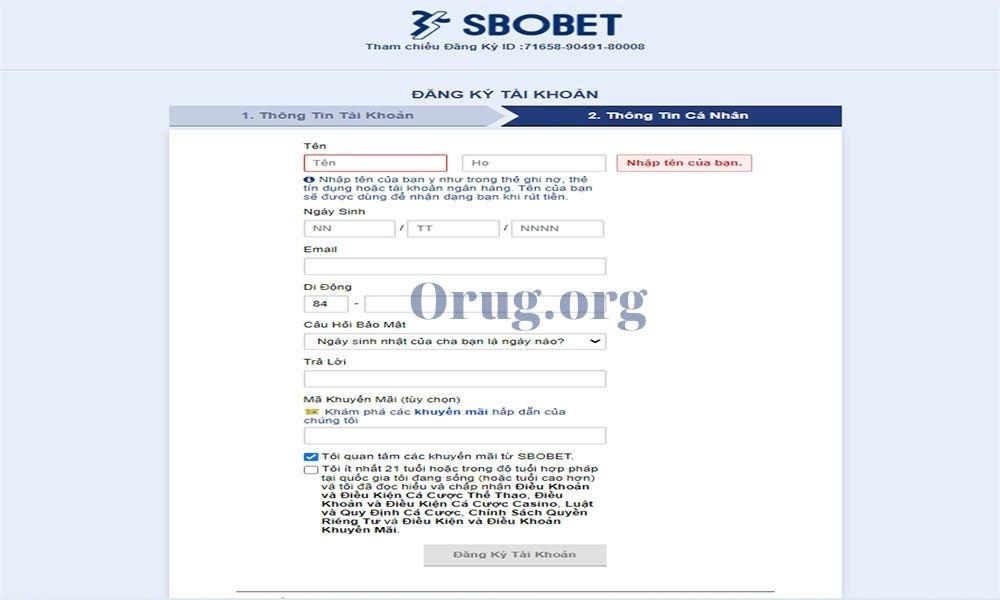 Form đăng ký Sbobet (1)